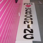 8ft pole sign