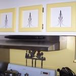 Pinstripped Kitchen